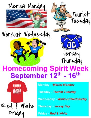 FUHS ASB announces 2016 Homecoming Spirit Week activities