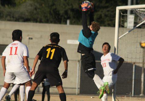 Varsity boys soccer welcomes new goalie
