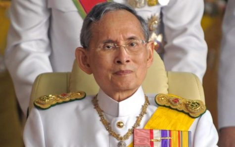 Late  King Bhumibol Adulyadej, who passed away on Oct. 13.  Source: http://www.telegraph.co.uk/