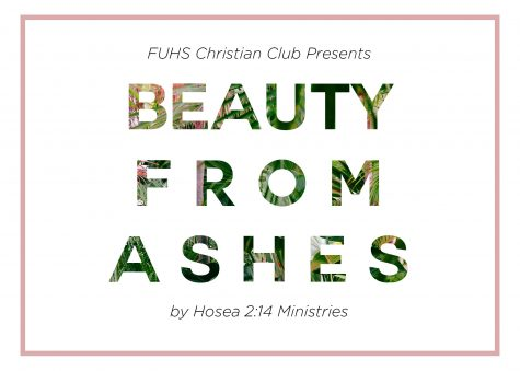 Christian Club to host Beauty from Ashes
