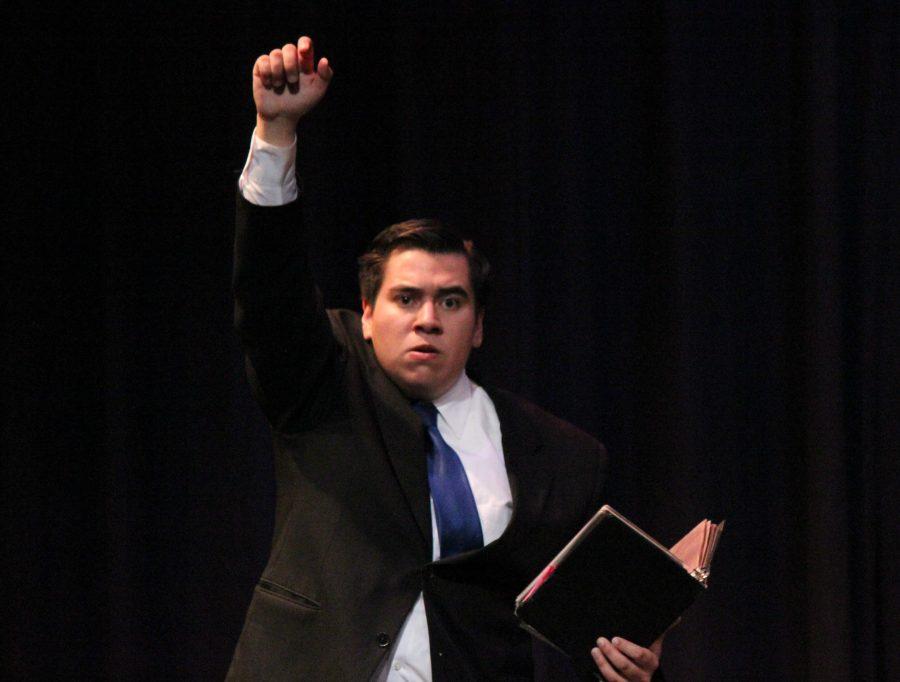 Senior Cesar Arrendondo.
