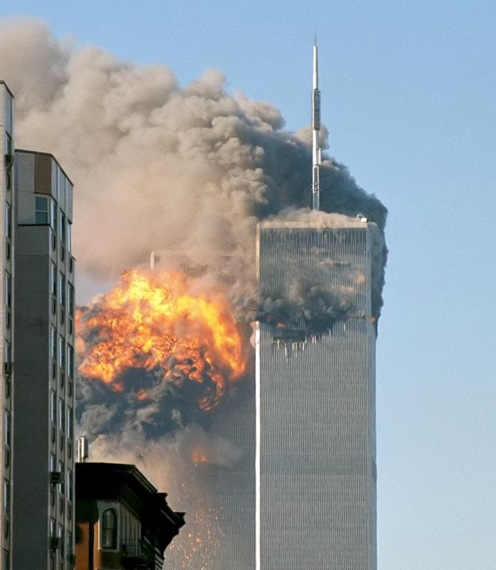 Source: https://commons.wikimedia.org/wiki/File:UA_Flight_175_hits_WTC_south_tower_9-11.jpeg