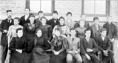 FUHS Class of 1895. Photo courtesy of the archives of the City of Fullerton.