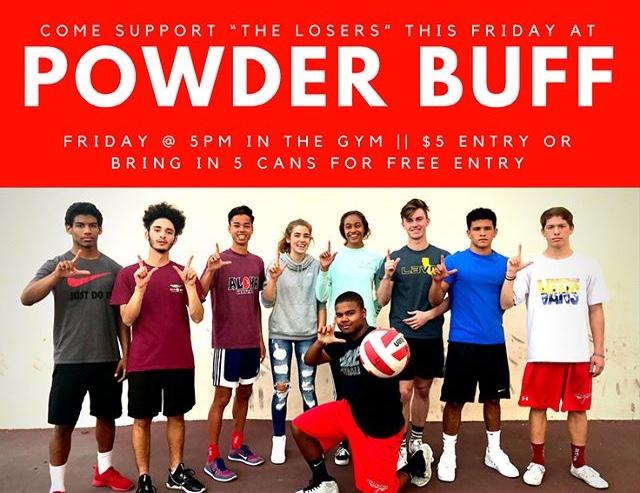 FUHSs first annual Powder Buff tournament