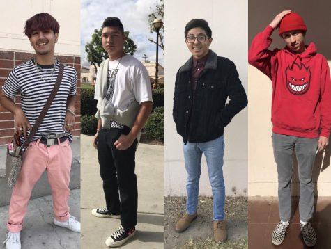 FUHS students fashion their favorite winter trends. Photo courtest of Bianey Hernandez.