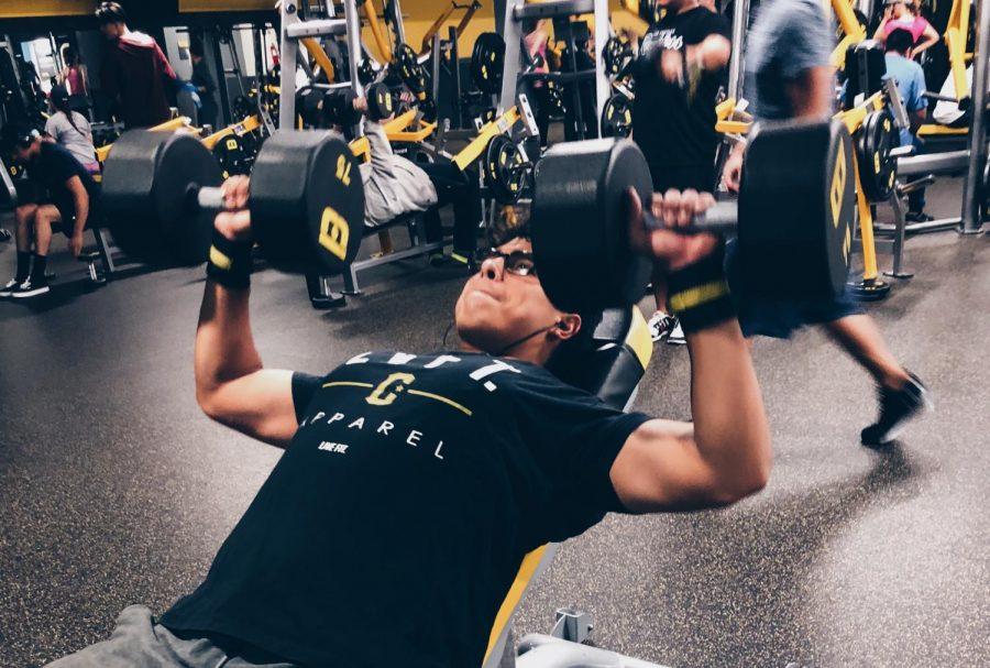 Sebastian Bernal recognizes the importance of working out regularly. Photo courtest of Sebastian Bernal.