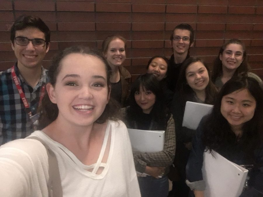 This years Cappies writers.