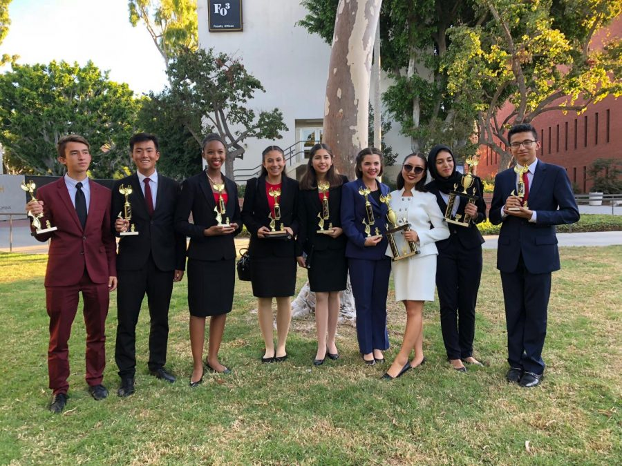 Speech and Debate participate in their first tournament of the year