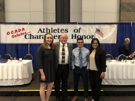 FUHS Students receive Athletes of Character Award