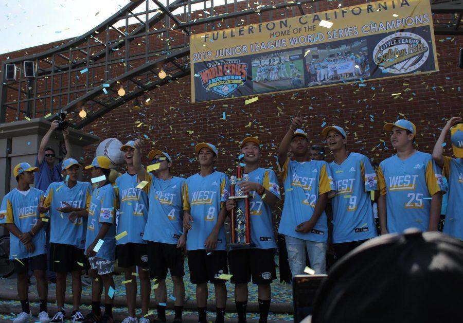 FUHS students' team wins Little League World Series