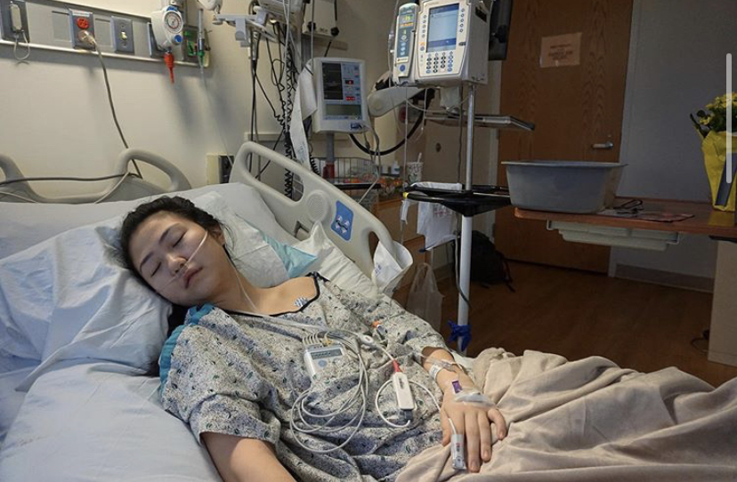 Claire+Chung+was+hospitalized+after+vaping+nicotine+caused+severe+health+complications.+Photo+courtesy+of+%40clairechunggg+on+Instagram.