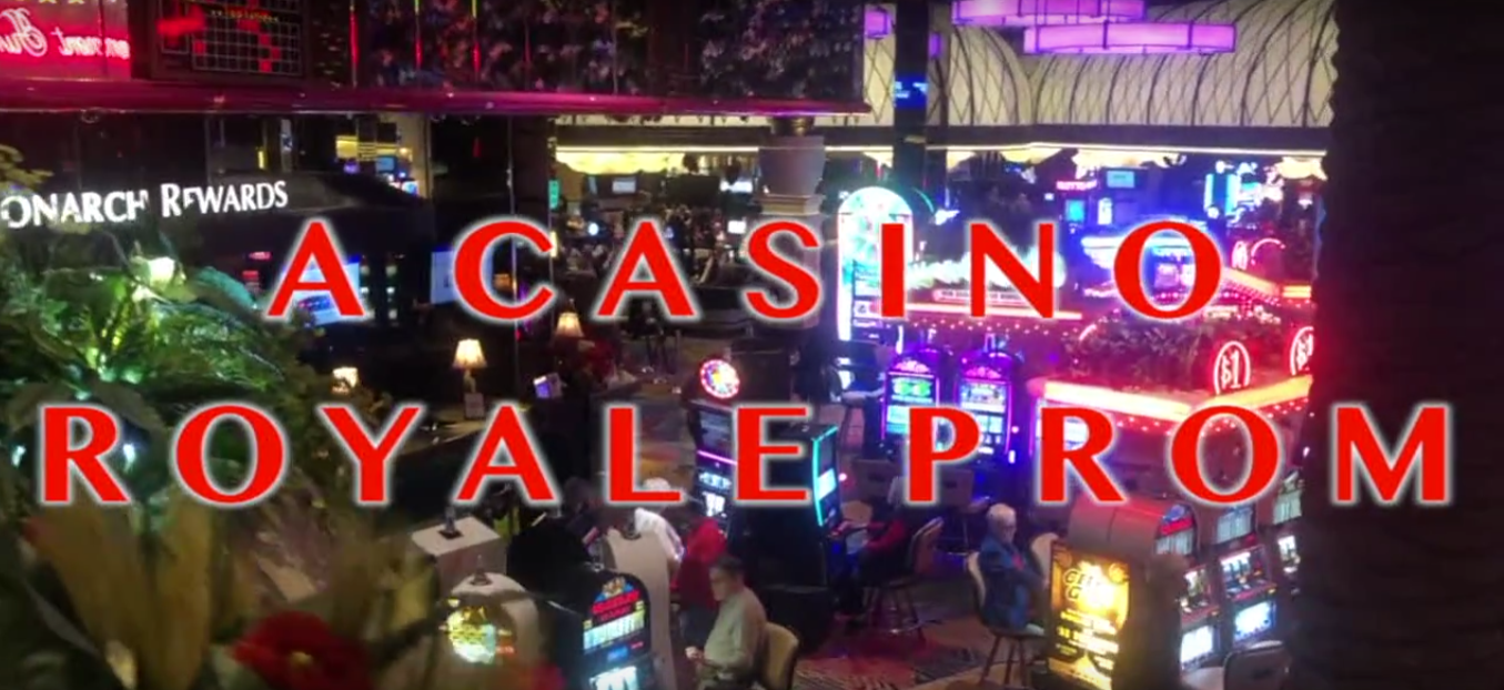 """ASB announced the prom theme, """"A Casino Royale Prom,"""" during video announcements last week. Photo courtesy of FUHS ASB."""