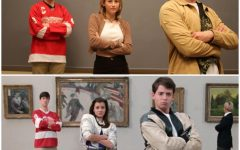 The Tribe Tribune staff recreated movie scenes from popular 80s teen films, including Ferris Bueller's Day Off (1986). Photo by Lauren Wright.