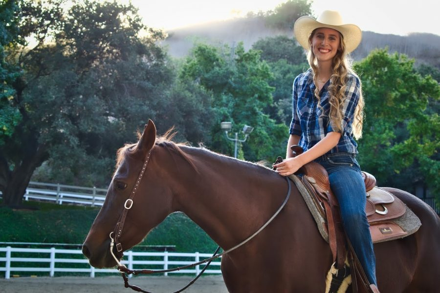 Aubrey Rynders plans to study Animal Science at UC Davis this fall. Photo courtesy of Aubrey Rynders.