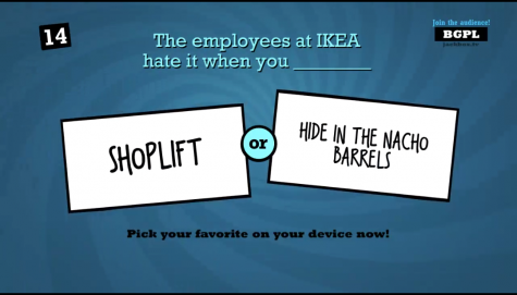 In a game of Quiplash, one player gives a logical answer while the other…not so much. Screenshot by Cyrus Burton.