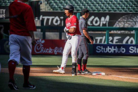 Chong dominates on baseball field, in classroom