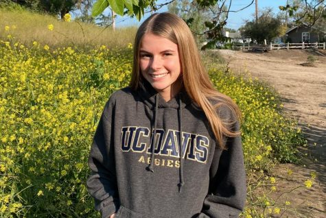Brooklyn will be attending UC Davis in the fall to major in Political Science. Photo provided by Brooklyn Campbell.