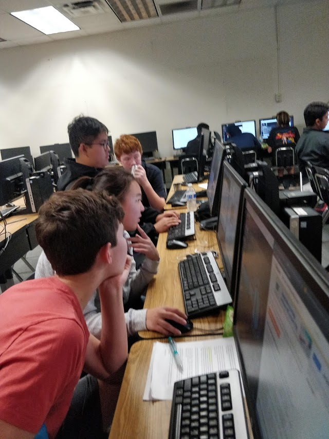 The FUHS Cyber Security Team starts competing in AFA competitions Nov. 13-15. Image by George Finch