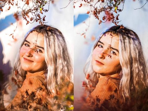 Varieur used colorful portraits and natural elements to celebrate the beauty of innocence and femininity. Photo courtesy of Kyrie Varieur.