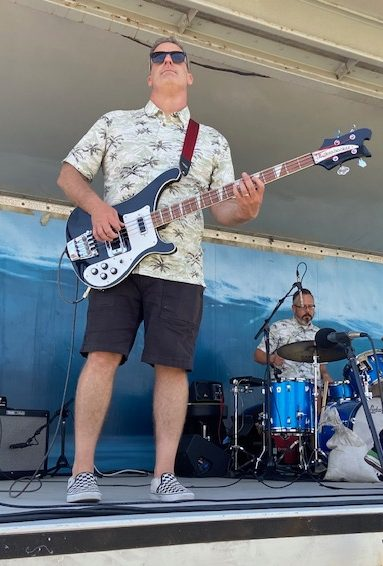 Robert Orr and his instrumental surf band The Blackball Bandits played at the Huntington Beach Pier on July 18. Watch a clip of the Huntington Beach show on Youtube.