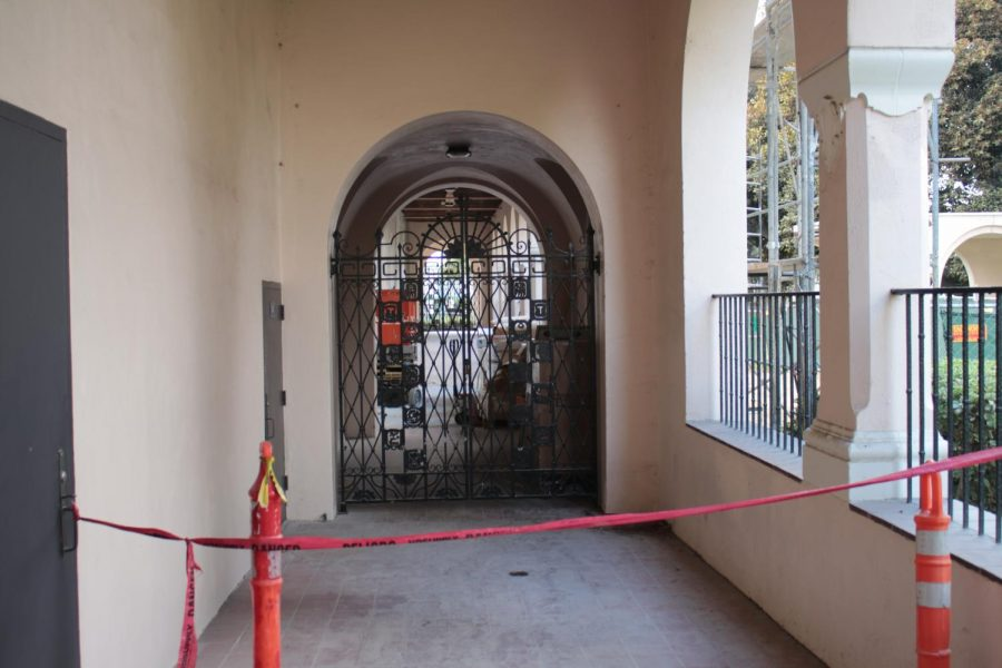Terry Galvin from Fullerton Heritage wants to make sure that the Fullerton Auditorium retains its architecture, including the Spanish Colonial Revival and Italian Renaissance design elements as well as its Neo-classical motifs.